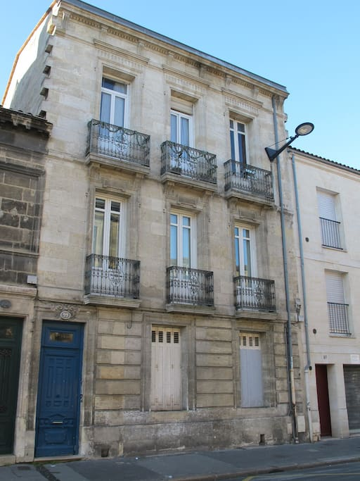 Duplex st nicolas t2 40m parking appartements louer for Appartement t2 bordeaux location