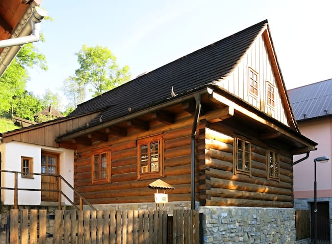 Cozy Wooden House in the Center - Štramberk - Talo