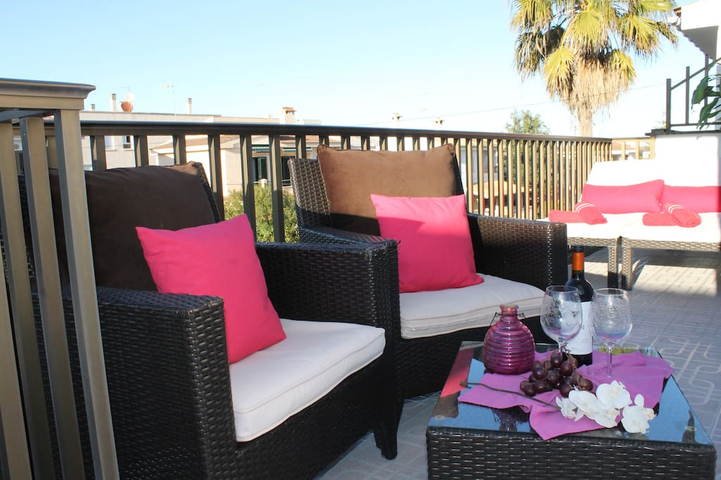 View Noemi terrace
