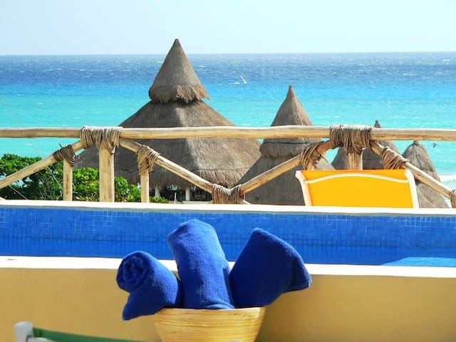 Friends/family reunion, fantastic location BP6 - Playa del Carmen - Flat