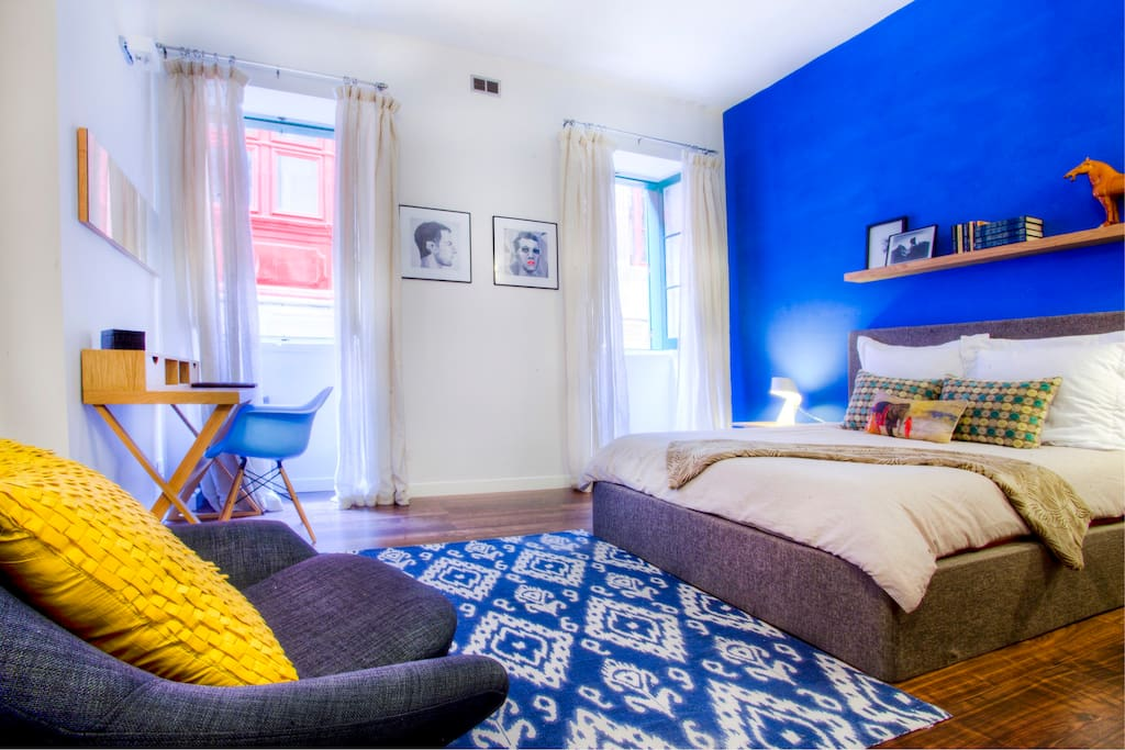85sqm apt sleeps 4 valletta centre appartements louer la valette malte. Black Bedroom Furniture Sets. Home Design Ideas