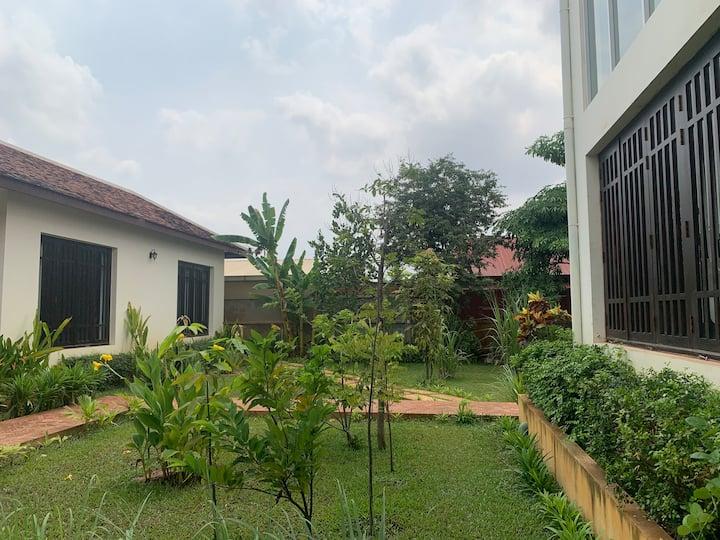 Home in the Tropical Garden