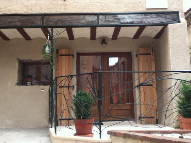 Maison Languedocienne en village - Roujan - House