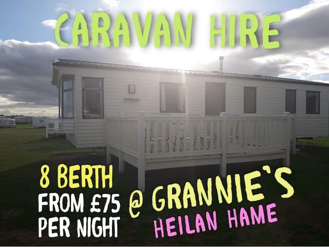 Kerri's Caravan @ Grannies Heilan Hame,Dornoch