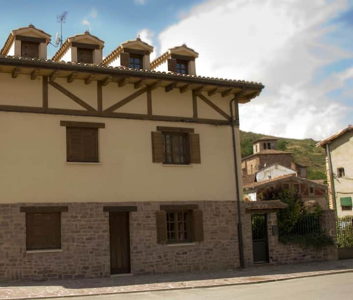 House with 2 bedrooms in Fresneda de la Sierra Tirón, with furnished terrace