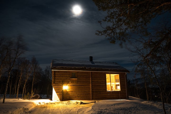 Exclusive cabin in beautiful nature surrondings.