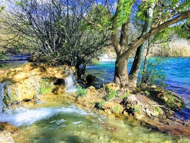 Aguas de la laguna Salvadora vierten sus aguas en la laguna Santo Morcillo.