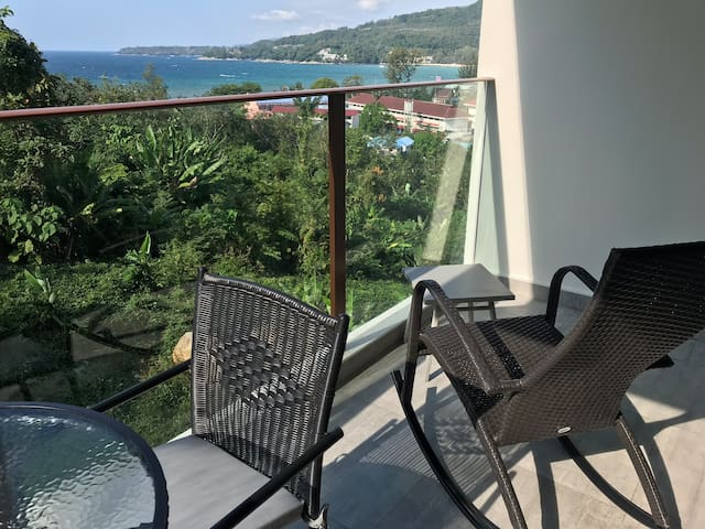 Charming 1 bed Room with see view in Kamala beach