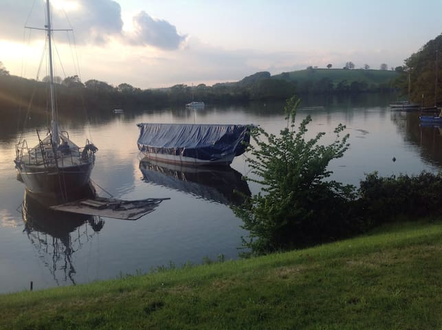 River Dart waterside luxury  home