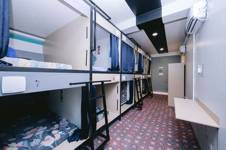 Capsule Rooms 15mins from Airport
