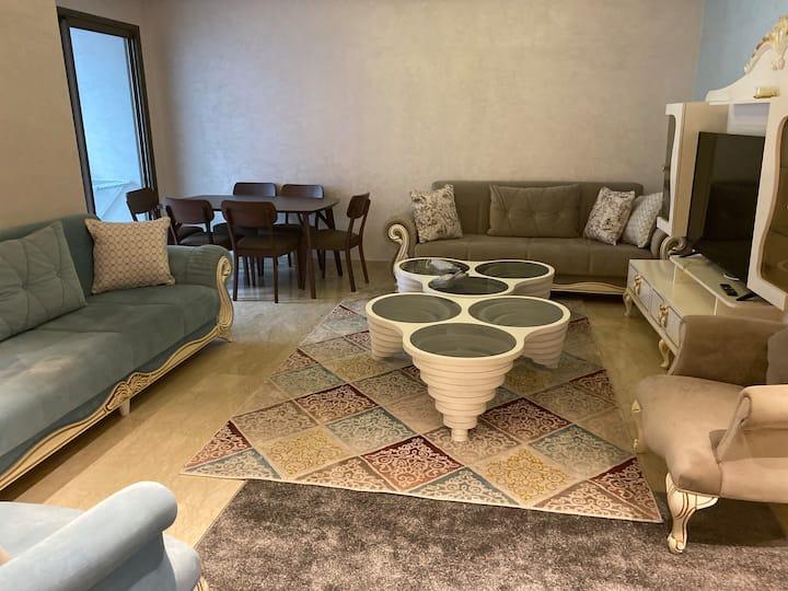 Appartement très bien meublé et propre