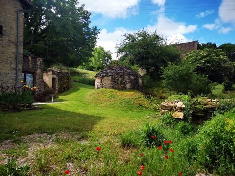 Charmant stenen huis met tuin