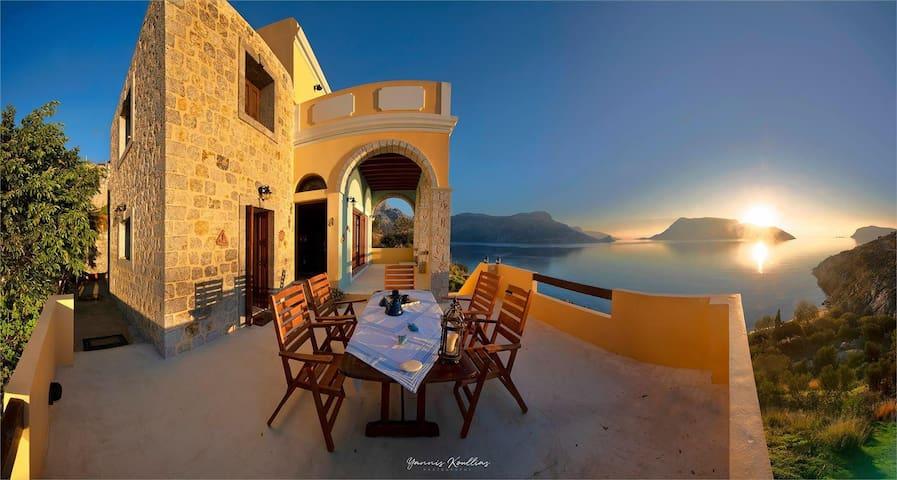 Kalymnos Secret Paradise Beach Villa