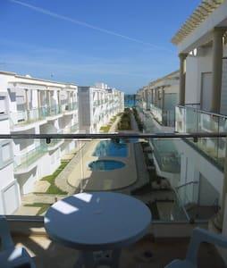 Appart sur mer plage,piscines privé - Sousse