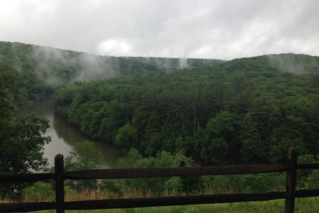 Clarion River Suites  with a view - Cooks burg - Apartamento