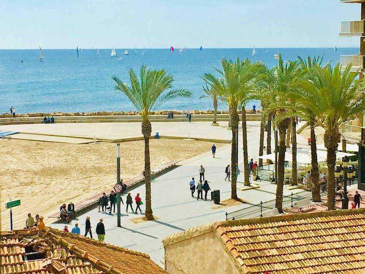 Luxurious Seaview Apartment 50m  at Playa del Cura