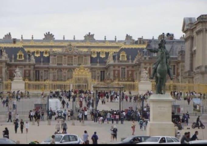 Petit studio à deux pas de Louis XIV - ベルサイユ - アパート