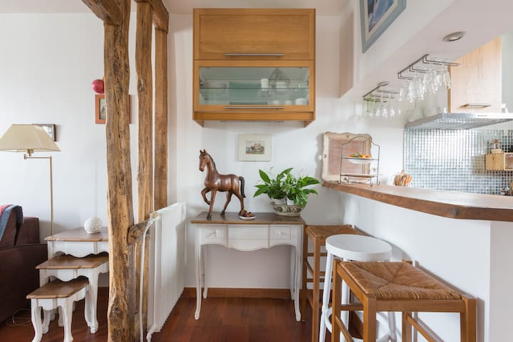 Charming and quiet Parisian duplex  - Boulogne-Billancourt - Wohnung