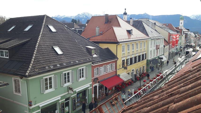 Wohnung im Herzen von Murnau - Murnau am Staffelsee - Leilighet
