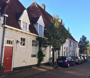 Cozy house in the old city center of Harderwijk - Harderwijk - Casa