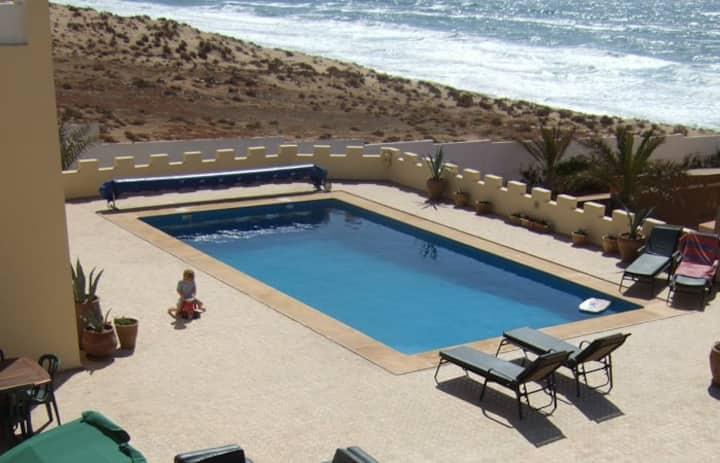 Magnificent Villa on the beach