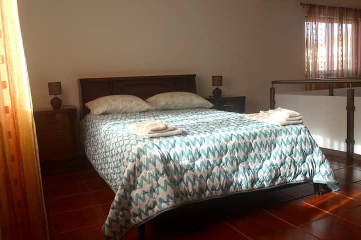 House with 2 bedrooms in São Mateus da Calheta, with wonderful mountain view and WiFi