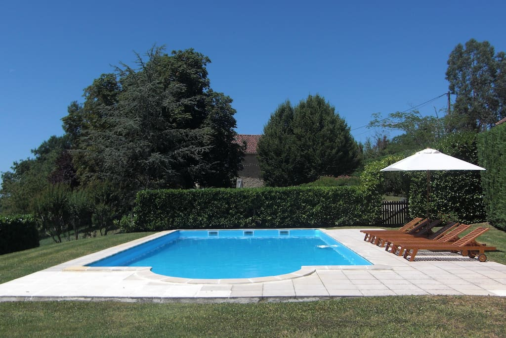 Secure 12 x 6m private pool
