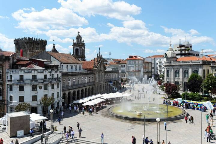 City Center - Fully Equipped T3 in lovely Braga