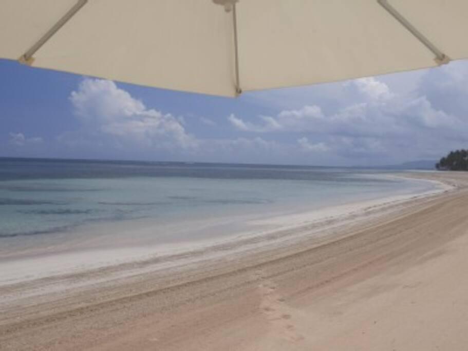 Balcones private Beach