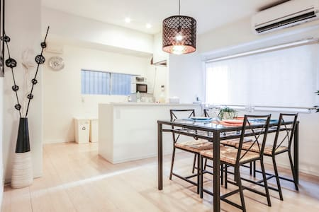 Luxury 2bed rooms 3double beds 2pocket Wi-Fi - Shibuya-ku