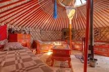 Mongolische Jurte im Alten Land
