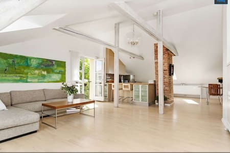 Cozy and sentral loft apartment - Oslo - Appartement