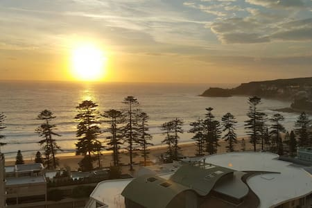 Cozy sofa-bed available. Stunning beach view! - Manly - Apartament