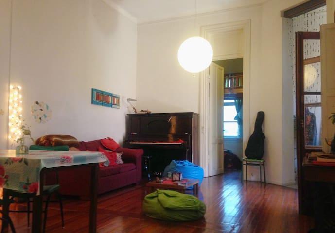 Luminosa y agradable habitación, en corazón de BA - Buenos Aires - Dom