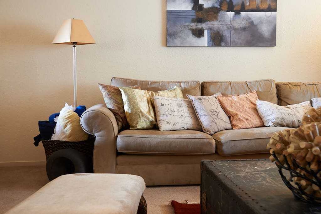 Comfortable Sectional for lounging around