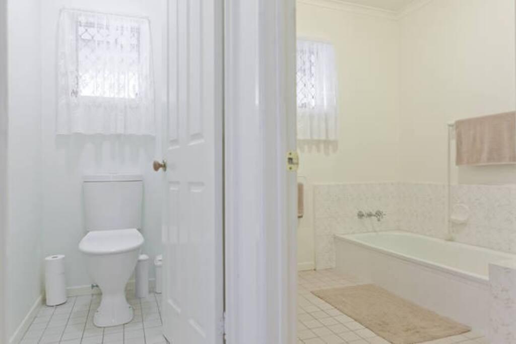 Bathroom & Separate Toilet