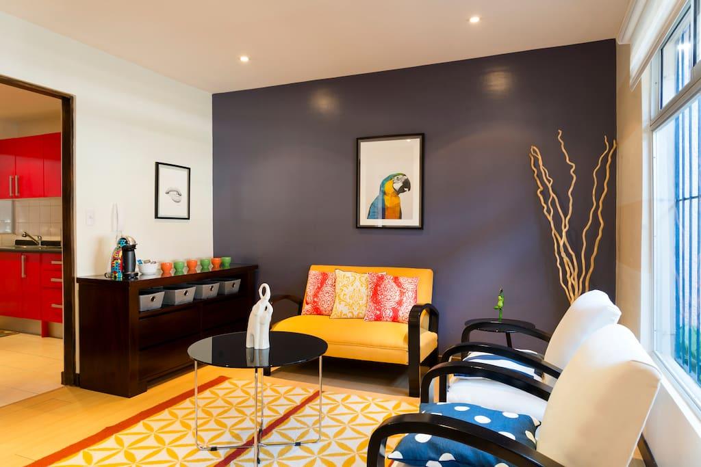 Sala Primer Piso || Living room - Firts floor
