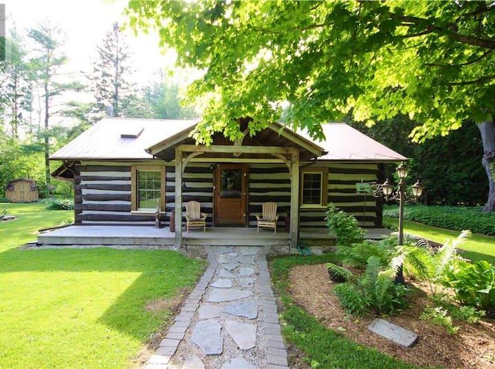 Cozy Log Cabin-  Walk to Lake Huron