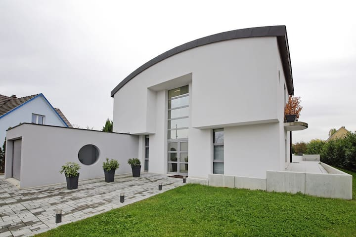 Maison neuve contemporaine design d'architecte