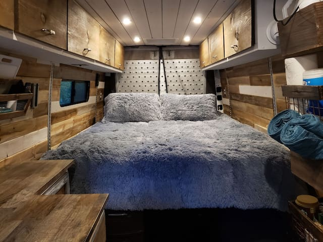 #Vanlife Sprinter Conversion Downtown Rental
