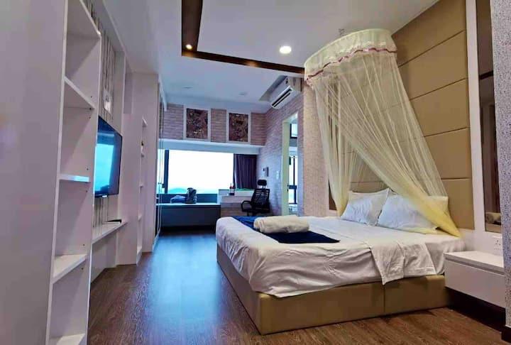Imperio Residence@Melaka A2830情侣浪漫主题套房