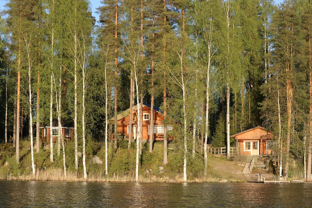Lakeside cottage in Finland