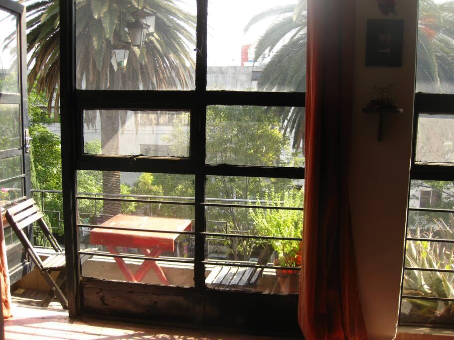 Great mini balcony