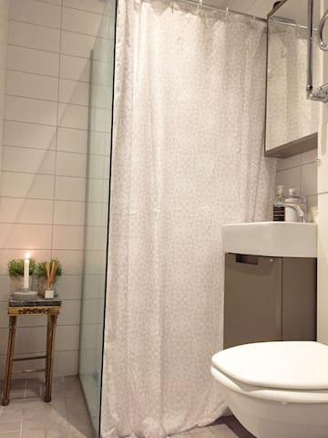 Mysig nyrenoverad lägenhet i Visby mitt i stan - Visby - Apartment