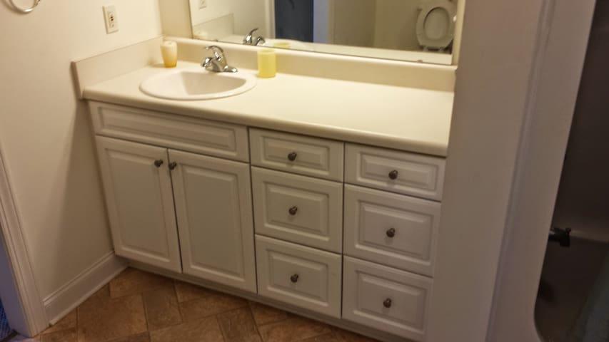 Upscale condo 1 bedroom 1 bath