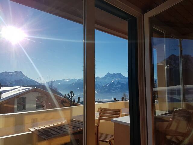 Private apartment in Leysin - Switzerland