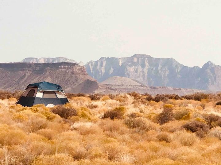 ZION View Tent Camping Kits! Pet & Kids!