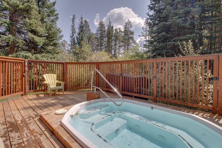 Ski-In/Bus-Out Condo with Shared Hot Tub - Close to Hiking and Biking!