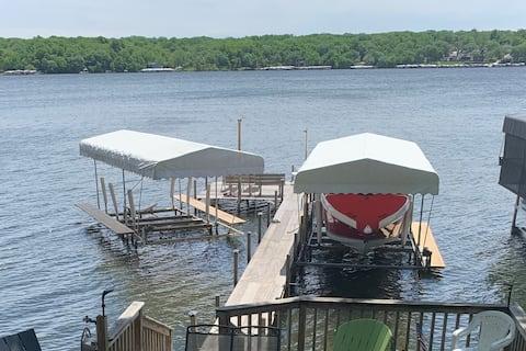East Lake Escape - Okoboji Property w/Dock & Lift