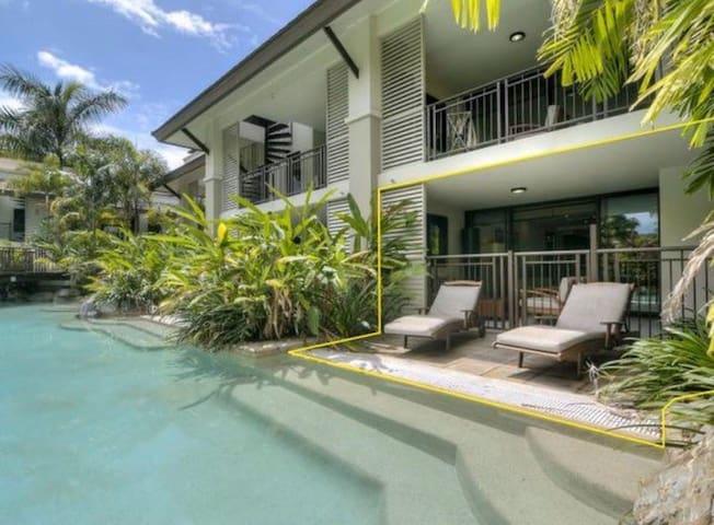 Sea Temple Port Douglas 2 Bedroom Swimout